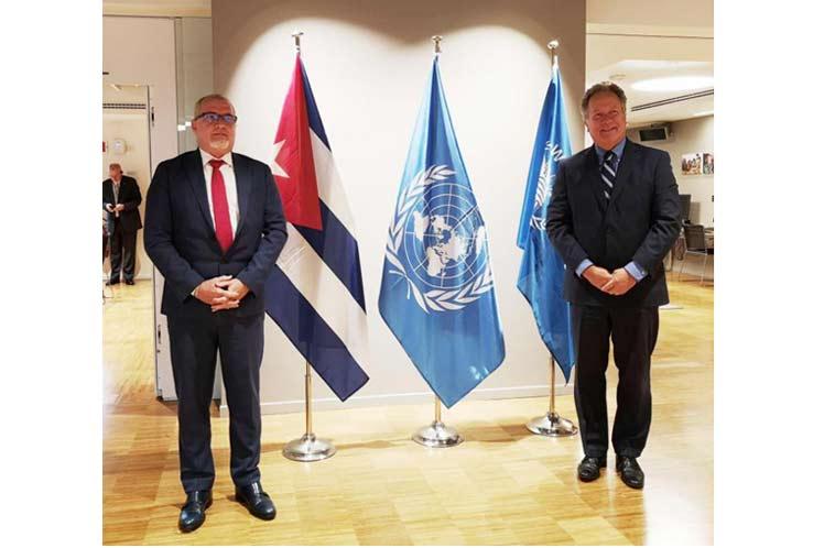 Director ejecutivo del PMA recibe a embajador de Cuba