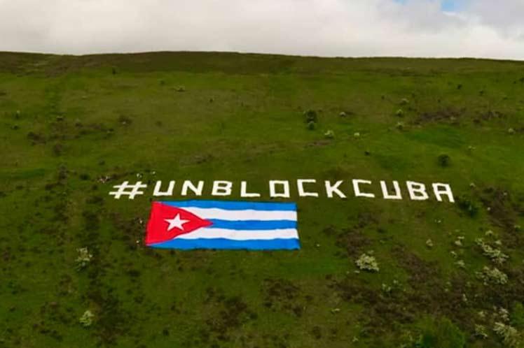 Presidente de Cuba agradece solidaridad contra bloqueo desde Irlanda