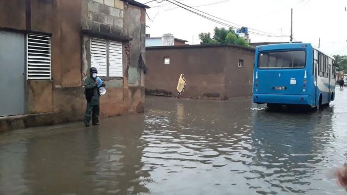 Elsa dejó mucha lluvia y pocos daños en Matanzas
