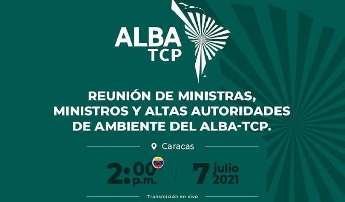 Sesionará reunión de altas autoridades de Medio Ambiente de ALBA-TCP