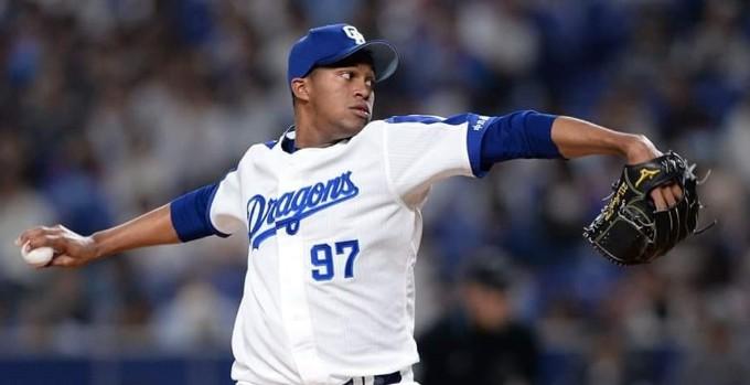 Raidel Martínez: reiterativo y octavo salvamento en béisbol nipón