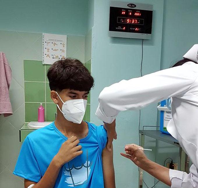 Continúa en Cuba ensayo vacunal anti-COVID-19 con Soberana-Pediatría