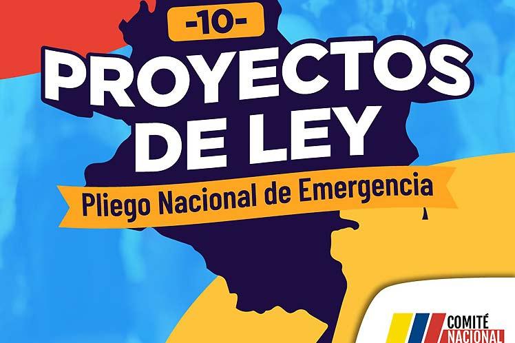 Gran jornada de movilización tendrá lugar hoy en Colombia