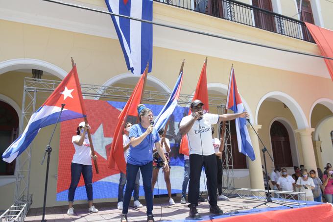 Bayameses ratifican su compromiso con la Revolución cubana (+ Fotos y Video)