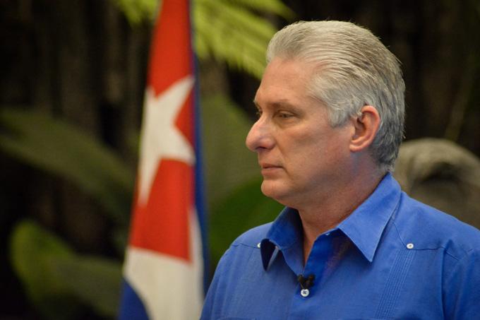 Díaz-Canel no llamó al desorden