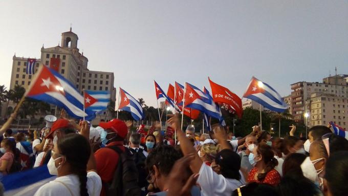 Sostiene Díaz-Canel que Cuba está firme ante agresiones de EEUU
