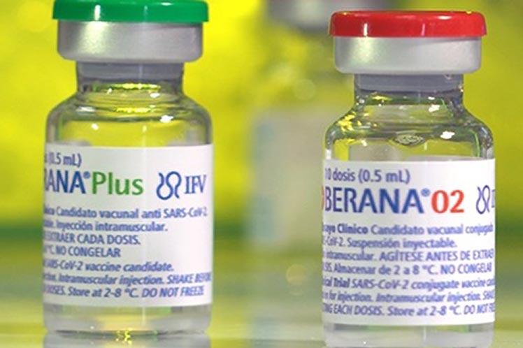 Soberana 02 más Soberana Plus de Cuba con eficacia ante la infección