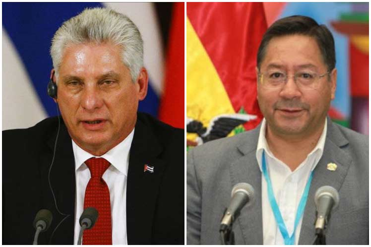 Presidente de Cuba agradece solidaridad de Bolivia
