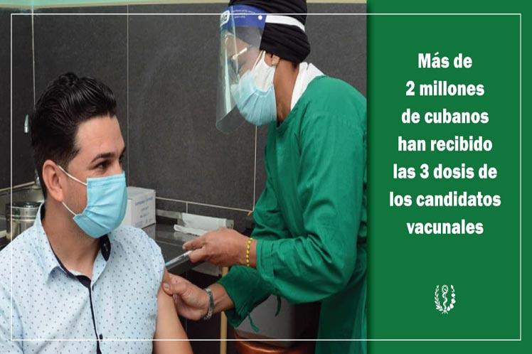 Cuba por frenar la Covid-19 y seguir la vacunación
