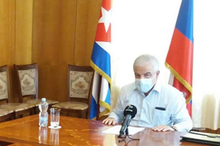 Embajador de Cuba  agradeció ayuda enviada por Rusia