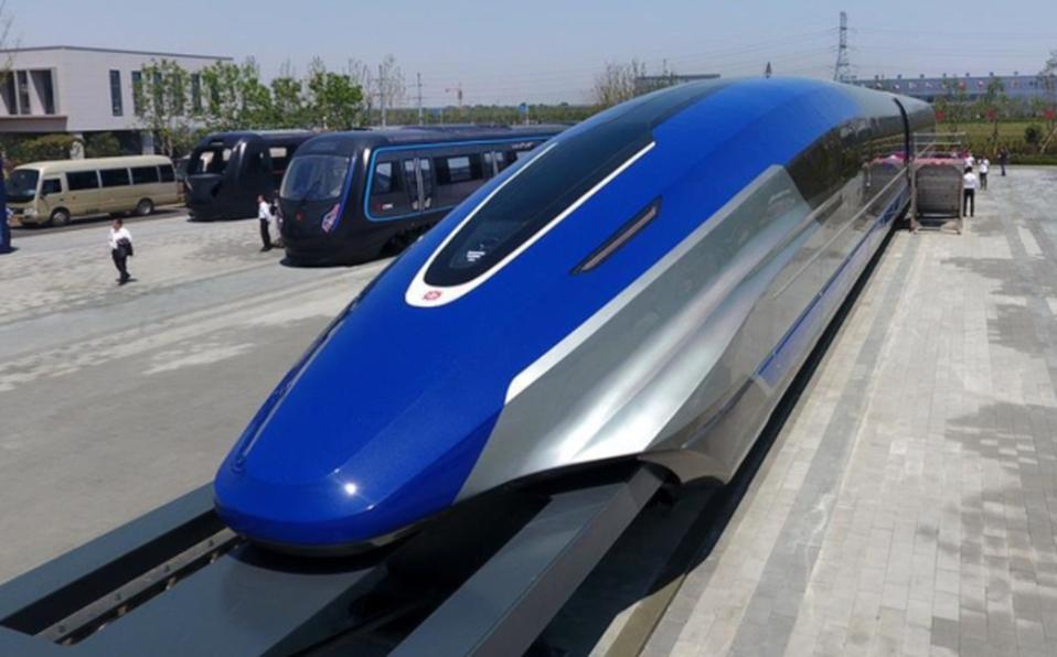 China produce tren con velocidad de 600 kilómetros por hora