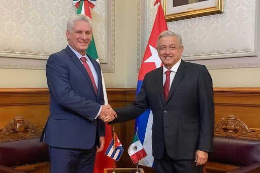 Agradece Díaz-Canel reconocimiento de presidente de México a Cuba