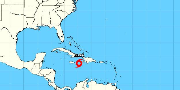 Tormenta tropical Elsa impactará en todo el territorio nacional