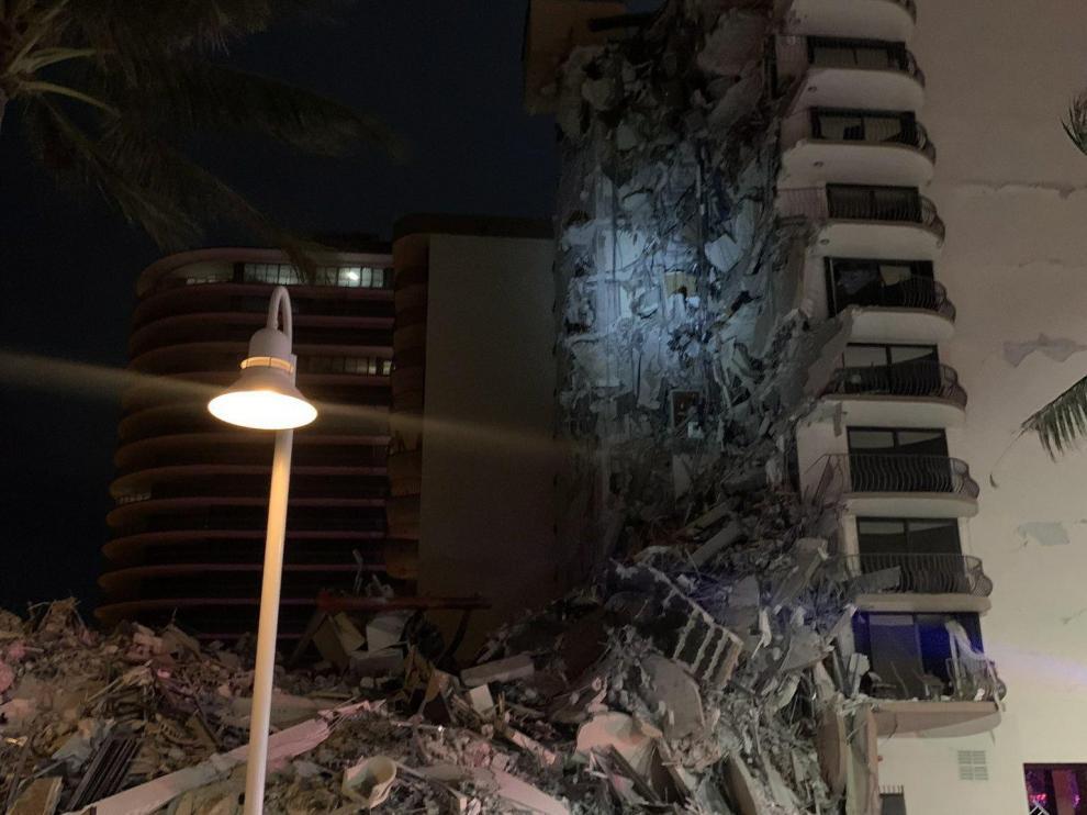Envía Cuba condolencias a familiares de las víctimas del derrumbe de Champlain Towers, EE.UU.