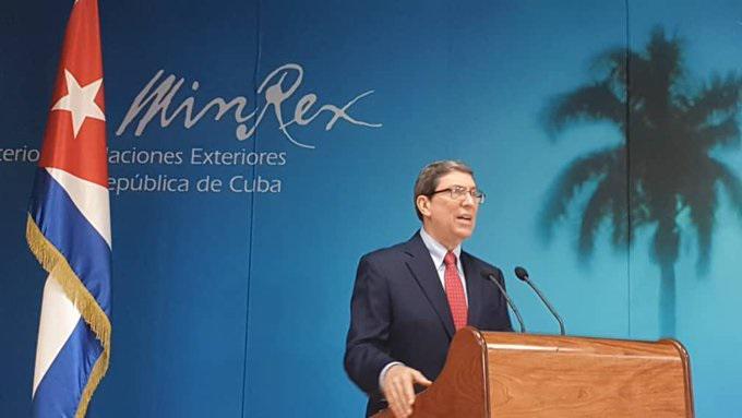 Canciller cubano, Bruno Rodríguez, ofreció hoy conferencia de prensa (+video)