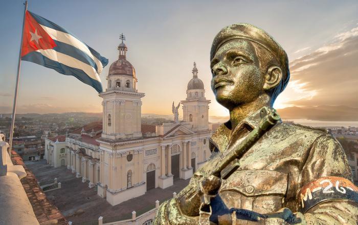 Presidente Díaz-Canel rinde homenaje a los mártires en Cuba