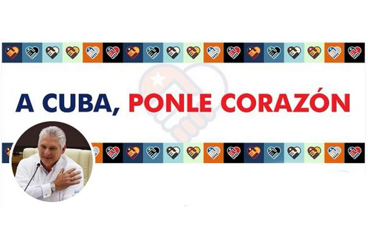 Presidente de Cuba remarca responsabilidad familiar contra Covid-19