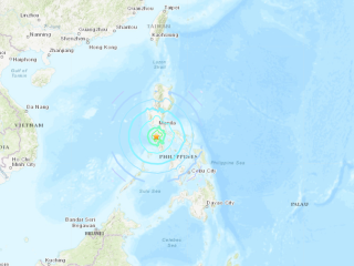 Fuerte sismo en Filipinas, pero sin consecuencias