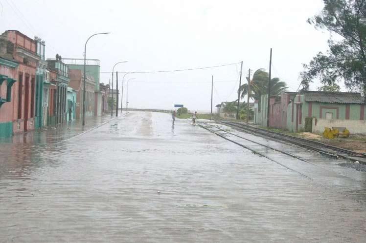 Lluvias asociadas a Elsa cubren casi toda Cuba