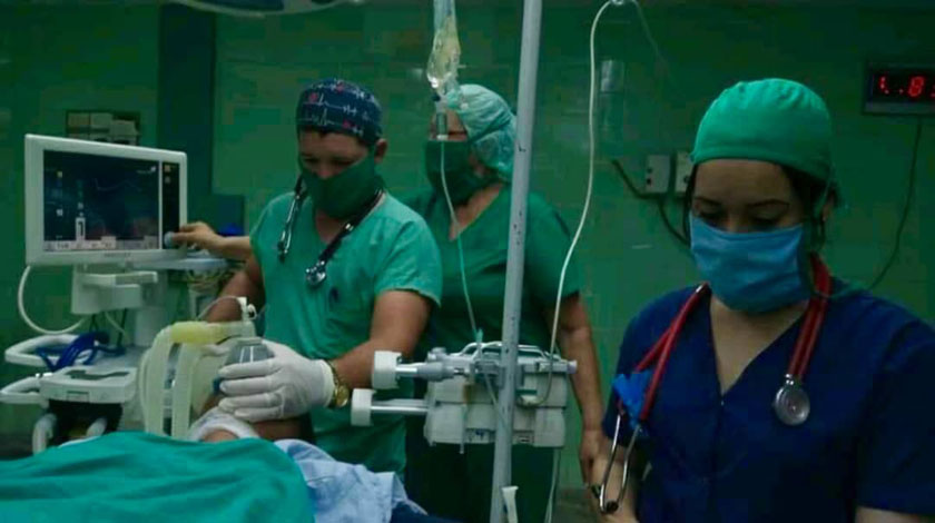 Agradece Díaz-Canel a todos los involucrados en operación milimétrica del oxígeno