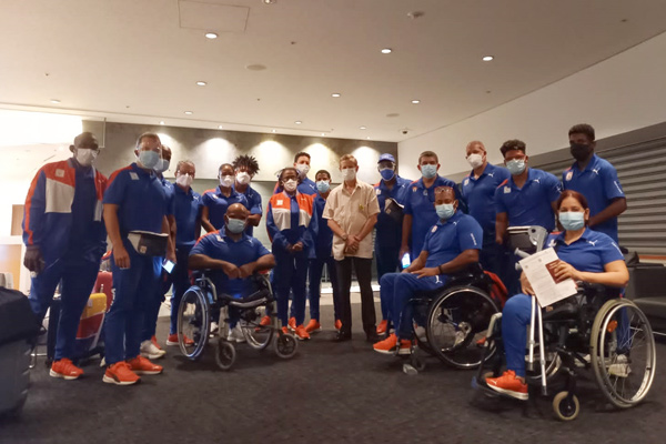 En Tokio delegación cubana para Juegos Paralímpicos