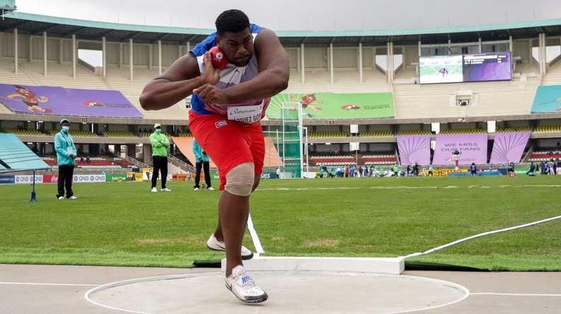 Conquista el oro cubano Vázquez en Mundial juvenil de atletismo