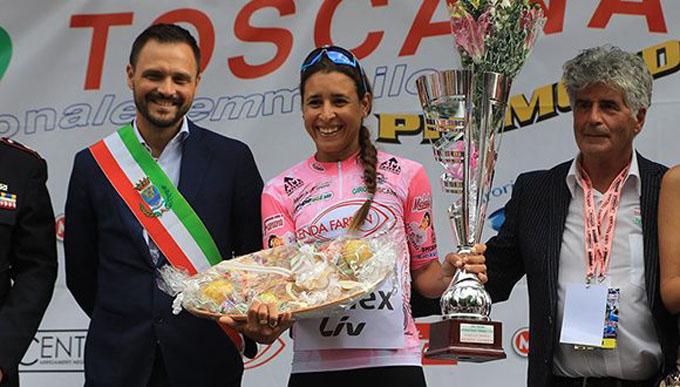 Retiene título de Gran Duquesa de Toscana ciclista Arlenis Sierra