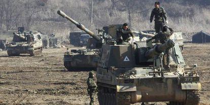 Denuncia RPDC ejercicios militares de EEUU y Corea del Sur