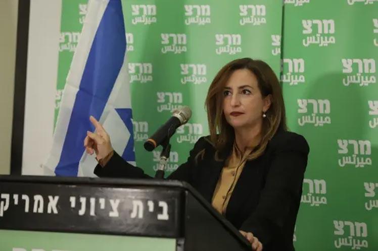 Diputada advierte sobre caída de Gobierno israelí si inicia guerra