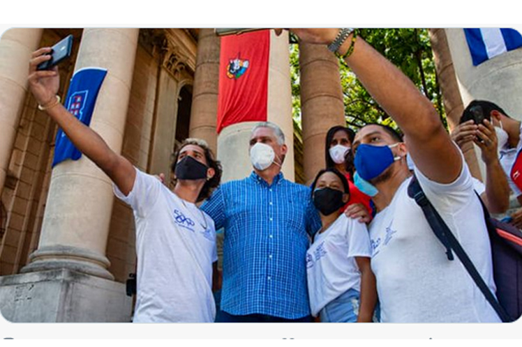 Subraya presidente de Cuba compromiso con la juventud
