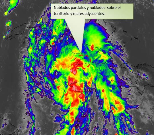 Lluvias significativas en Granma