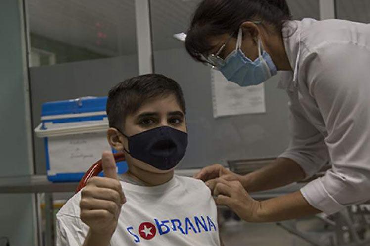 Avanza ensayo clínico Soberana-Pediatría de Cuba con tercera dosis