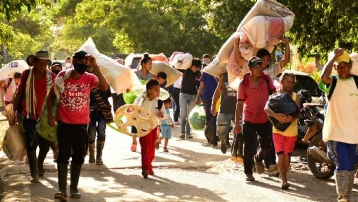 Empeora crisis humanitaria por desplazamientos en Nariño, Colombia