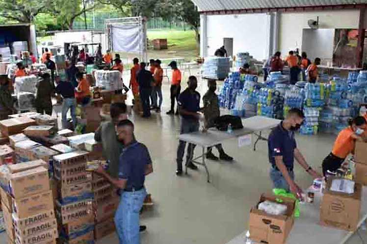 Envía Panamá ayuda humanitaria a Haití