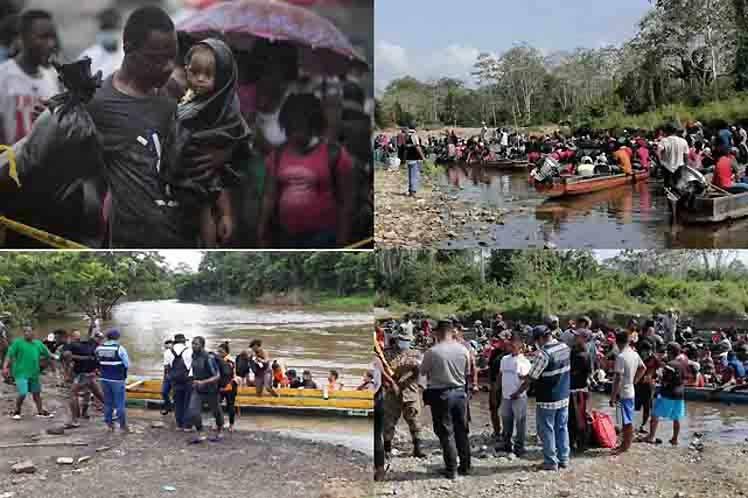 Oleada migratoria obliga a medidas urgentes en Colombia y Panamá
