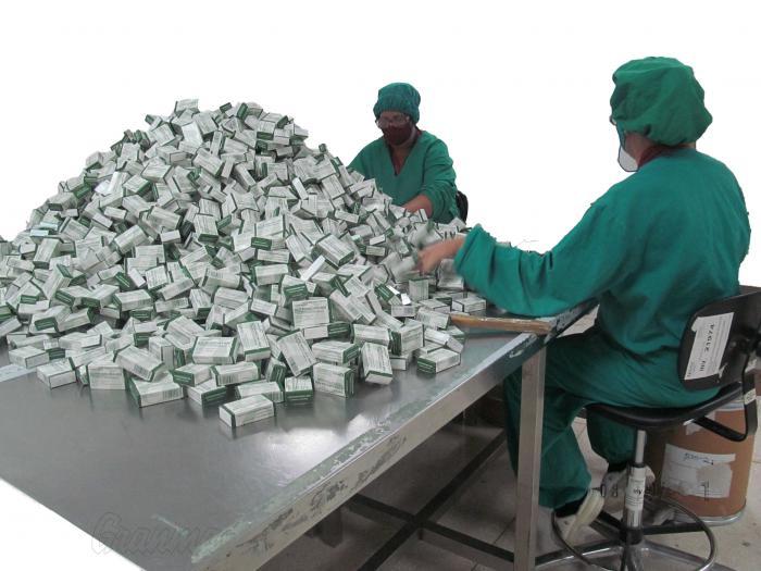 Producción de medicamentos tiende a la recuperación