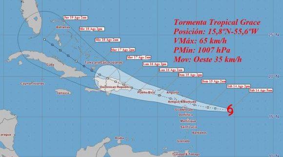 Se forma nueva tormenta tropical y Fred se adentra en el estrecho de la Florida