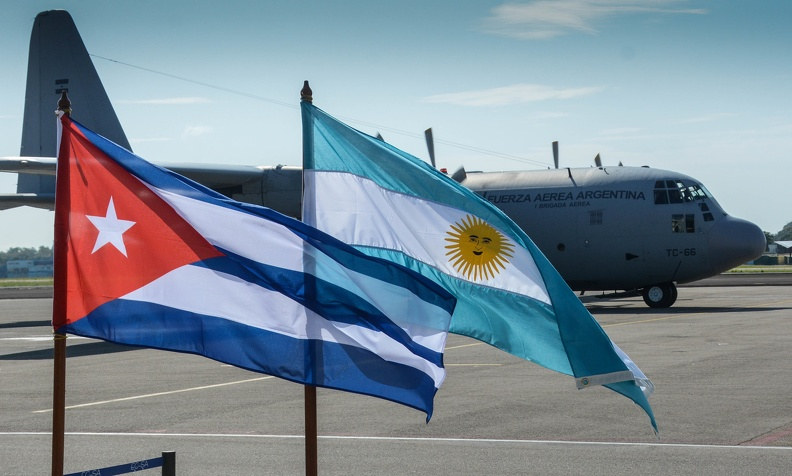 Díaz-Canel agradece solidaridad del pueblo argentino hacia Cuba