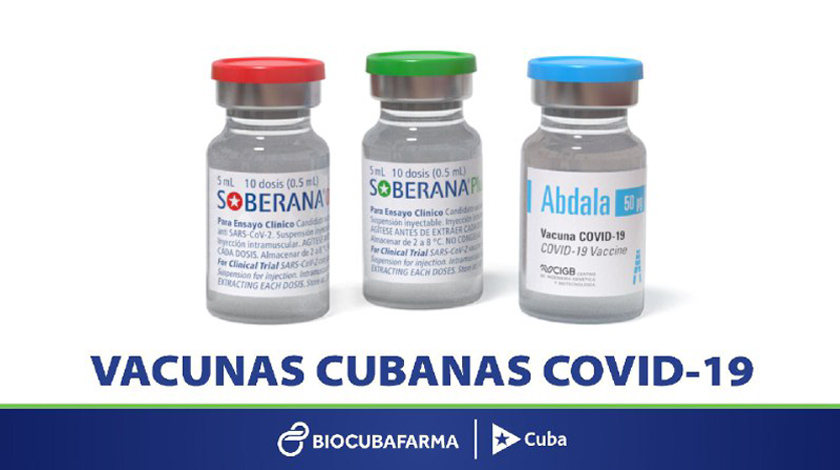 Cuba cuenta con las dosis de vacunas anti-COVID-19 para inmunizar a toda su población en 2021