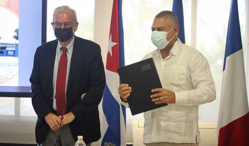 Firman PNUD Cuba y Francia proyecto sobre Cambio Climático