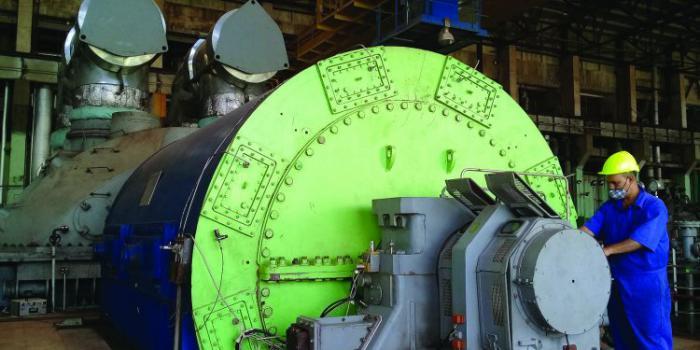Termoeléctrica Máximo Gómez logra estabilidad en la mitad de su potencia instalada