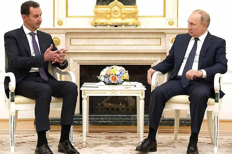 Rusia y Siria dialogaron en Moscú sobre situación en país árabe (+Foto)