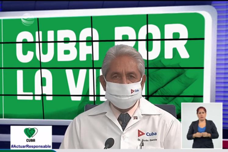 Informó Cuba ocho mil 544 casos de Covid-19 y 60 fallecidos