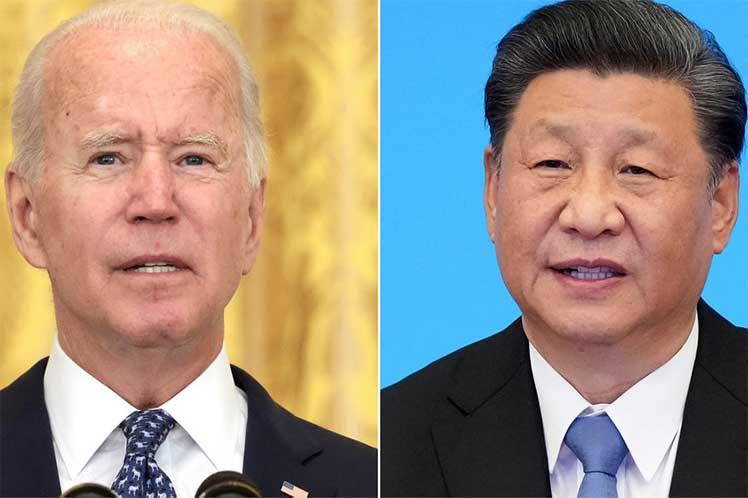 Xi y Biden analizan temas de interés para China y EEUU