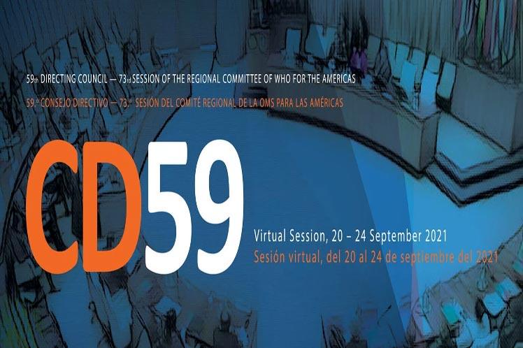 Comienza 59 Consejo Directivo de OPS enfocado en pandemia de Covid-19