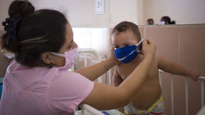 Más de tres mil niños granmenses infectados con Covid-19