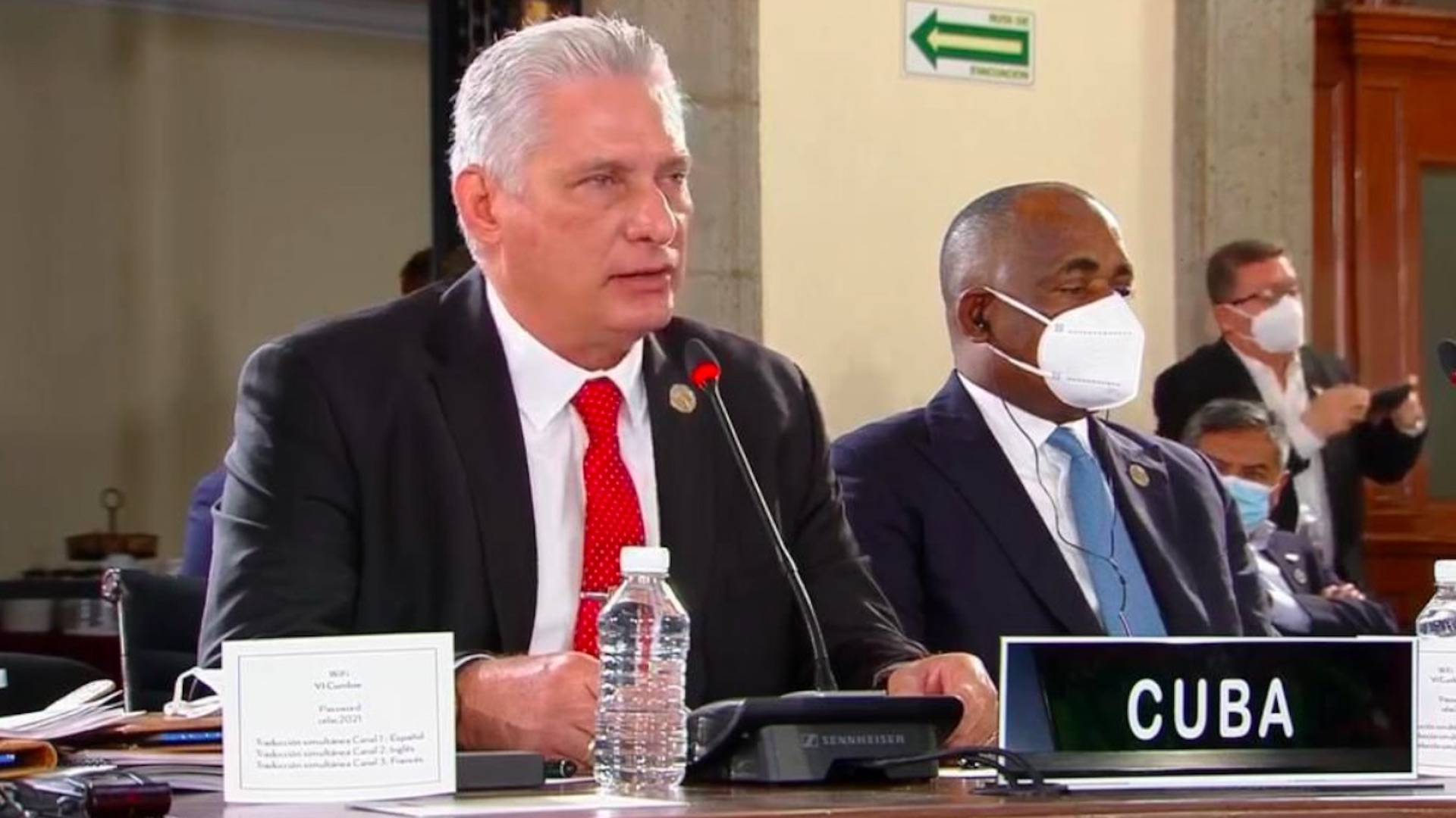 Discurso de Miguel Díaz-Canel Bermúdez en la VI Cumbre de la CELAC, en México