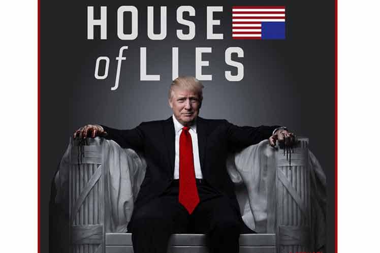 Trump persiste en mentir en Estados Unidos