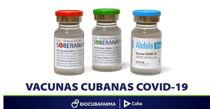 Produce Cuba todas las dosis anti-COVID-19 para inmunizar a la población