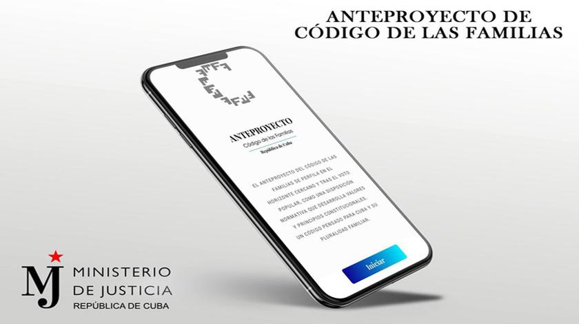 Facilita aplicación móvil estudio del Código de las Familias
